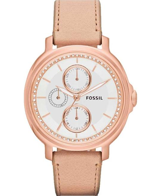 FOSSIL Chelsey Multi-Function Beige Watch 39mm