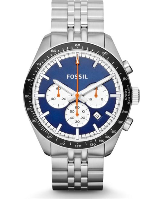Fossil Chronograph Watch, 45mm