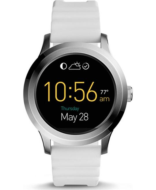 FOSSIL GEN 2 SMARTWATCH - Q FOUNDER WHITE SILICONE 46MM