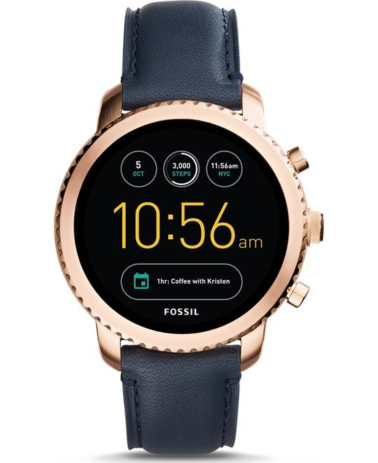 Fossil Gen 3 Smartwatch - Q Explorist Navy Watch 44mm