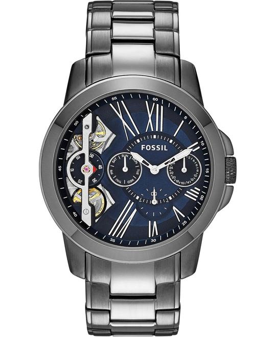 FOSSIL Grant Blue Multifunction Men's Watch 44mm