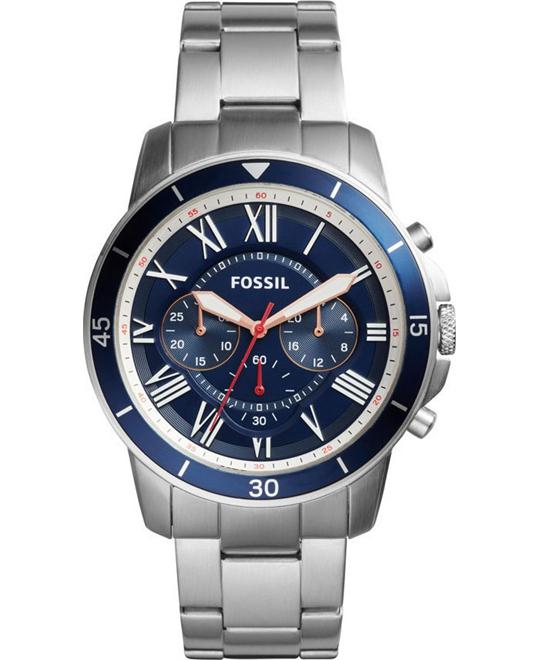 FOSSIL Grant Sport Blue Chronograph Watch 44mm