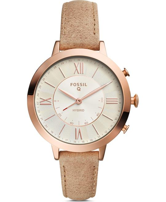 Fossil Hybrid Smartwatch - Q Jacqueline Bone Watch 36mm