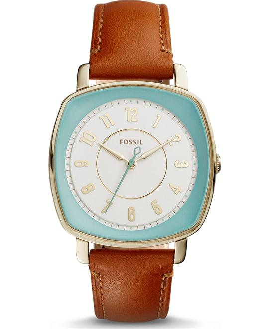 Fossil Idealist Light Brown Watch 36x36mm