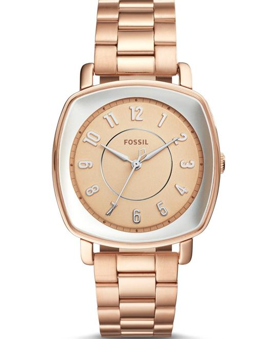 Fossil Idealist Rose Gold-Tone Women's Watch 36x36mm