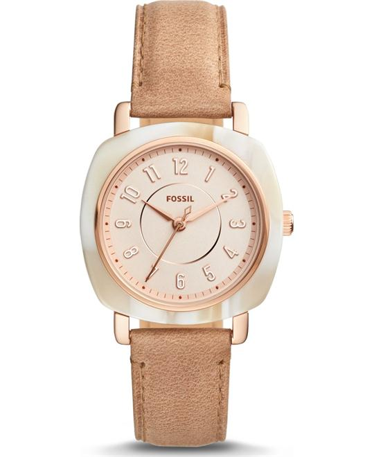Fossil Idealist Three-Hand Sand Watch 36mm