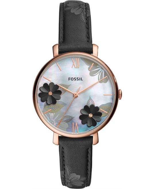 Fossil Jacqueline Black Watch 36mm