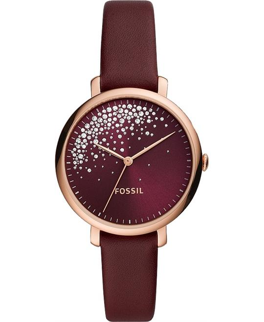 Fossil Jacqueline Burgundy Watch 36mm