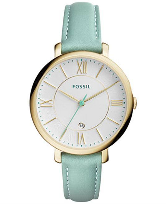 Fossil Jacqueline Dial Ladies Green Watch 36mm
