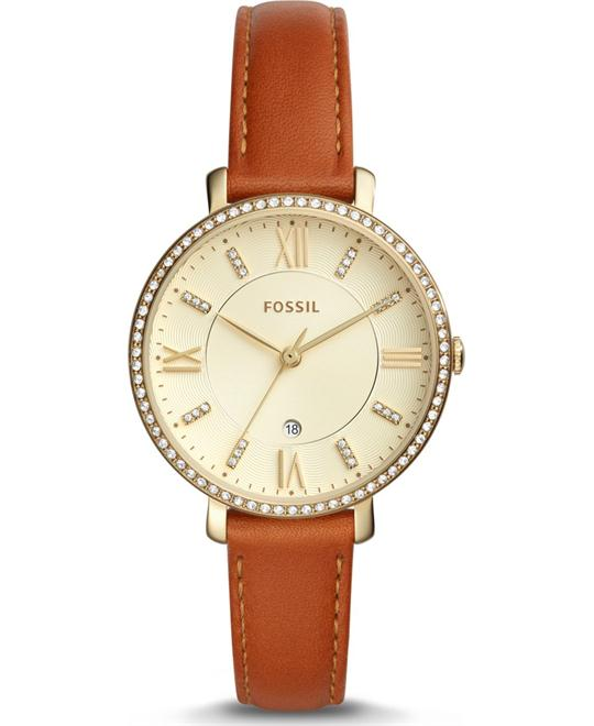 Fossil Jacqueline Gold-Tone Ladies Watch 36mm