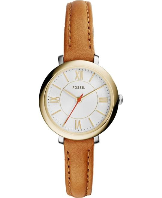 FOSSIL Jacqueline Mini Tan Ladies Watch 26mm