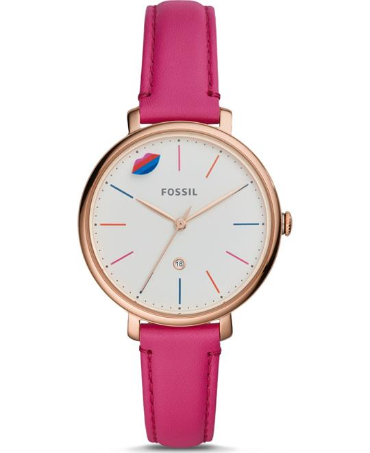 Fossil Jacqueline Pink Limited Edition Watch 28mm