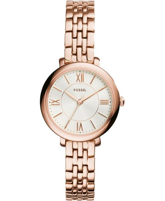FOSSIL Jacqueline Rose Gold Ladies Watch 26mm