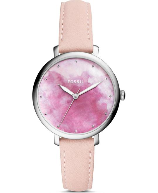 Fossil Jacqueline Three-Hand Blush Watch 36mm