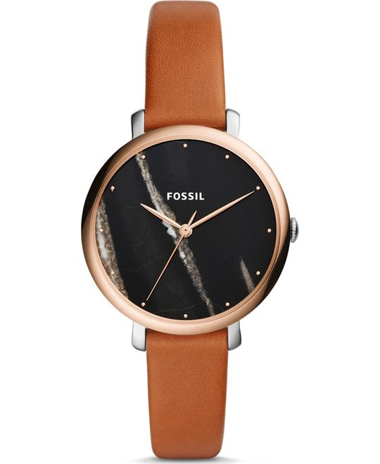 Fossil Jacqueline Three-Hand Luggage Watch 36mm