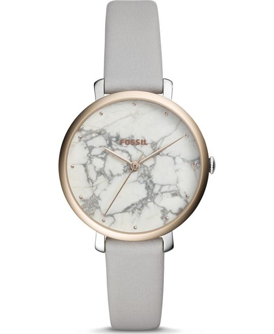 Fossil Jacqueline Three-Hand Mineral Gray Watch 36mm
