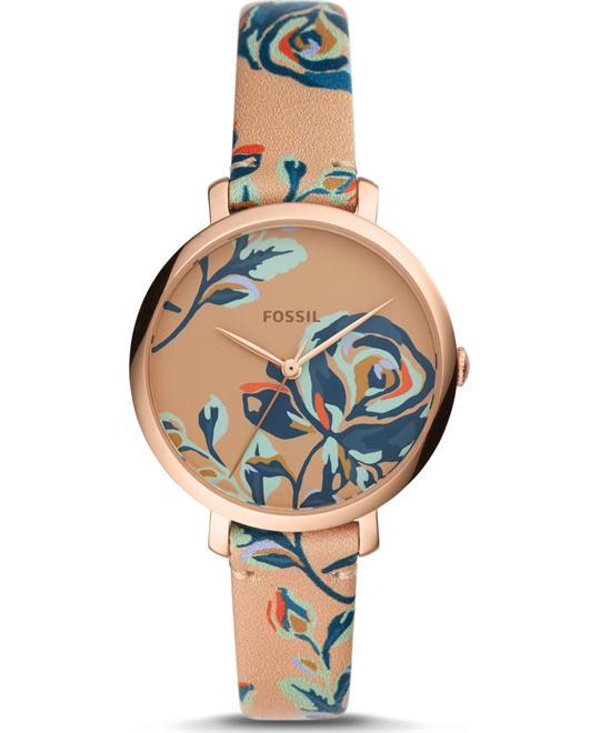 Fossil Jacqueline Three-Hand Multi-Colored Watch 42mm