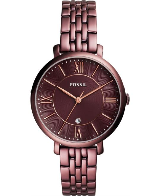 Fossil Jacqueline Wine Watch 36mm