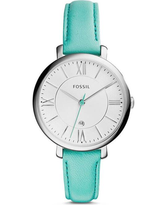 Fossil Jacqueline Women's Analog Quartz Green Watch 36mm