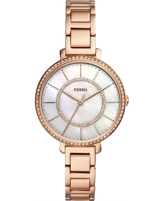 Fossil Jocelyn Rose Gold-Tone Watch 36mm