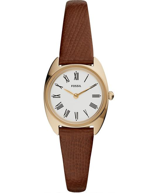 Fossil Jude Mini Brown Watch 26mm