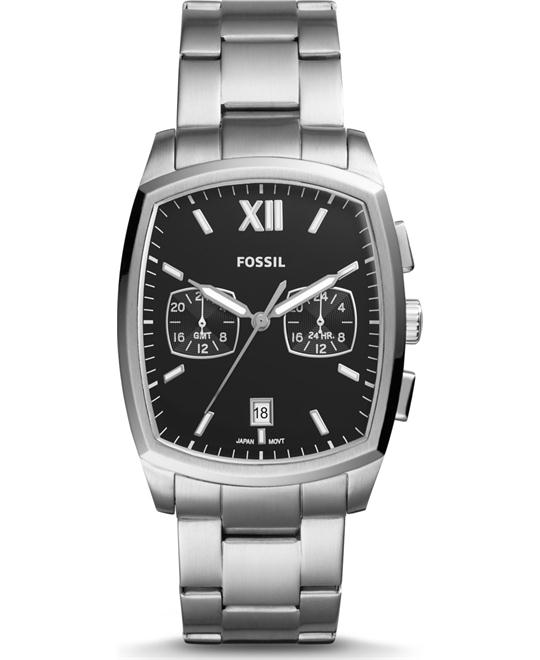 FOSSIL KNOX DUAL TIME WATCH 38x32MM
