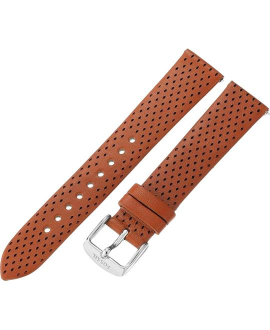 Fossil Light Brown Leather 18mm