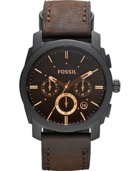 Fossil Machine Brown Watch 42mm