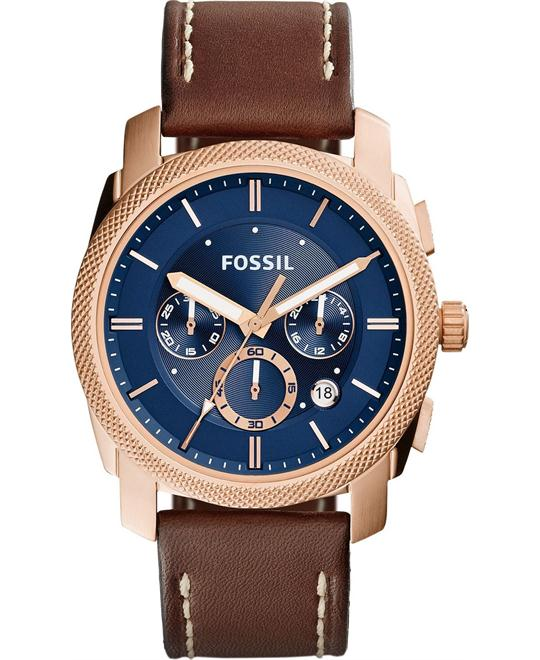 FOSSIL Machine Chronograph Blue Men's Watch 42mm