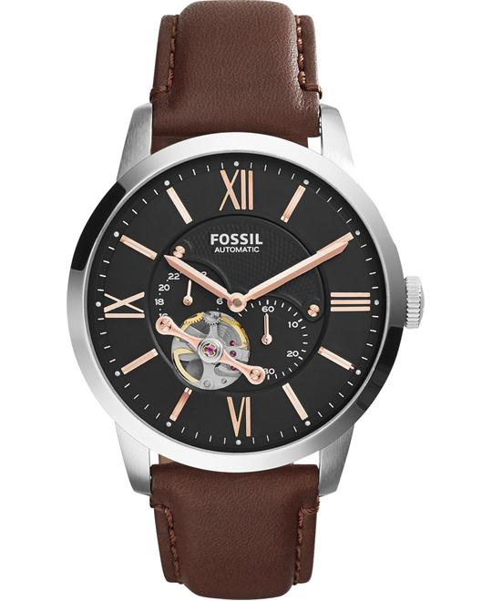Fossil Townsman Men's Automatic Brown Watch 44mm
