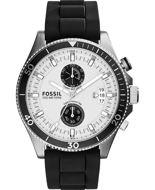 Fossil Men's Wakefield Chronograph Watch 44mm