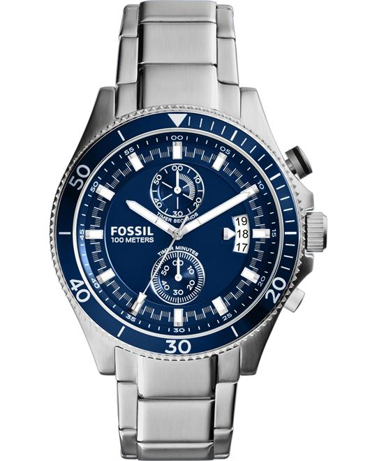 Fossil Men's Wakefield Chronograph Watch 45mm