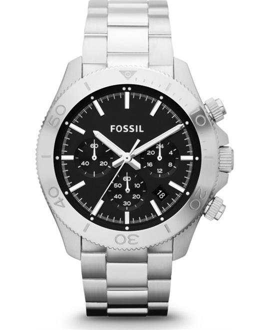 Fossil Men's Chronograph Bracelet 45mm