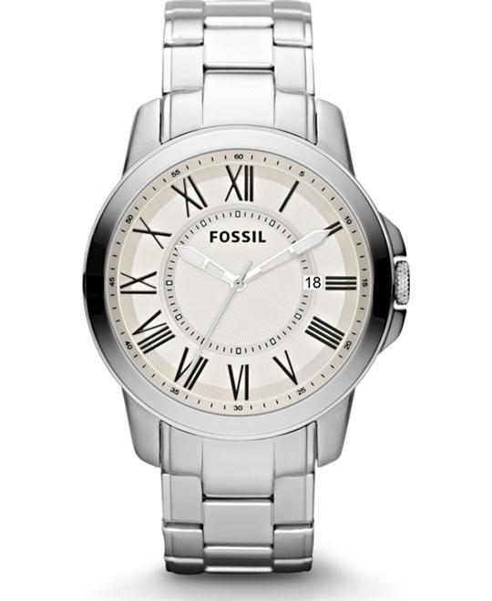 Fossil Men's  Stainless Steel Watch 44mm