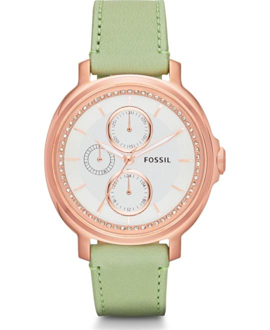 Fossil Chelsey Women's Analog Quartz Green Watch 39mm