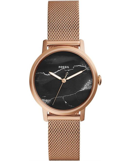 Fossil Neely Rose Gold-Tone Watch 34mm