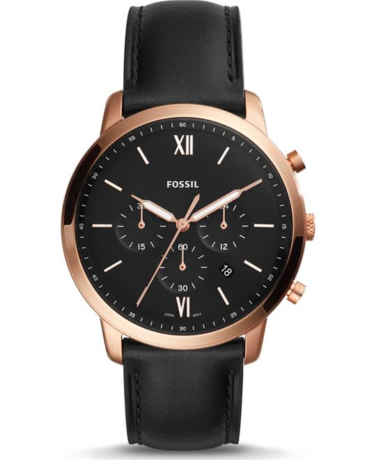 Fossil Neutra Chronograph Black Watch 44mm
