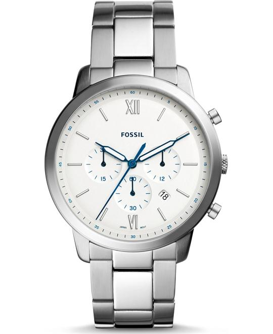 Fossil Neutra Chronograph Stainless Steel Watch 44mm