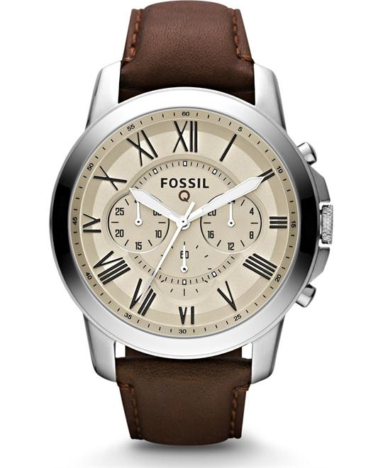 FOSSIL Q GRANT CHRONOGRAPH DARK WATCH 44MM