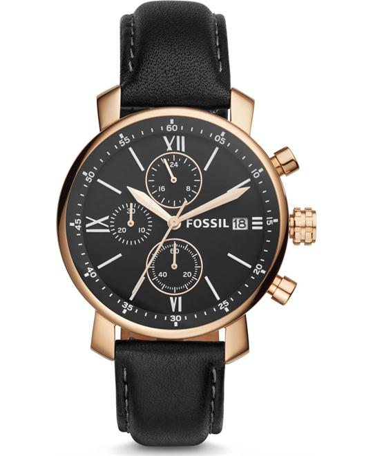 Fossil Rhett Chronograph Black Watch 42mm