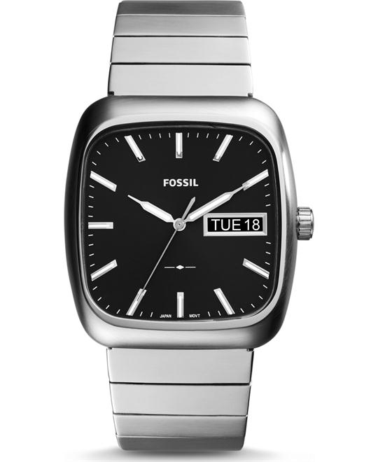 FOSSIL RUTHERFORD DAY-DATE WATCH 38x41MM