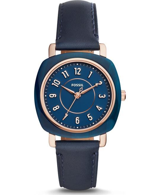Fossil Sale Idealist Three-Hand Navy Watch 36mm