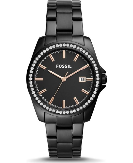 Fossil Janice Three-Hand Black Watch 38mm