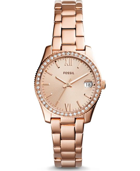 Fossil Scarlette Three-Hand Date Watch 32mm