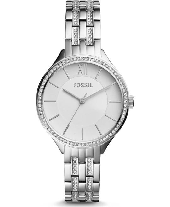 Fossil Suitor Three-Hand Stainless Steel Watch 36mm