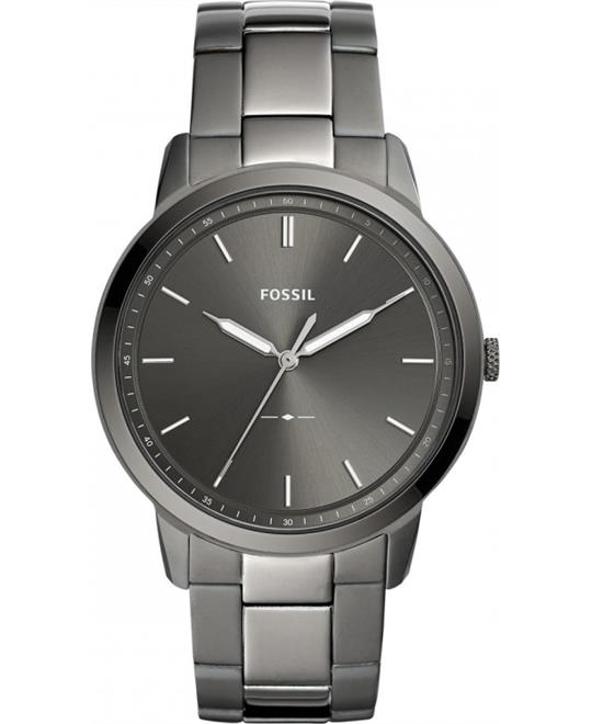 Fossil The Minimalist 3H Grey Dial Watch 44mm