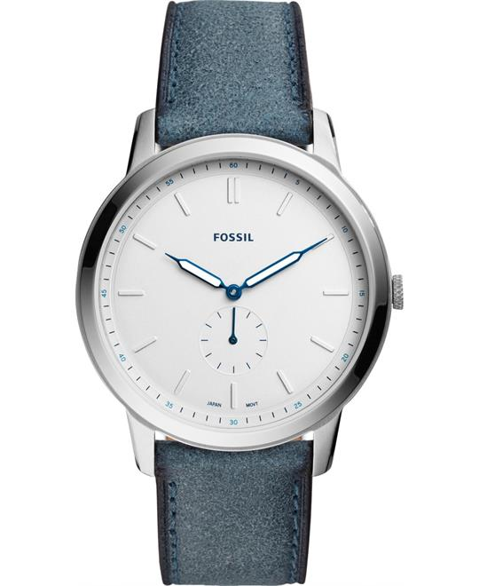 Fossil The Minimalist Blue Watch 44mm