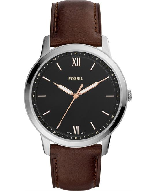 Fossil The Minimalist Brown Watch 44mm