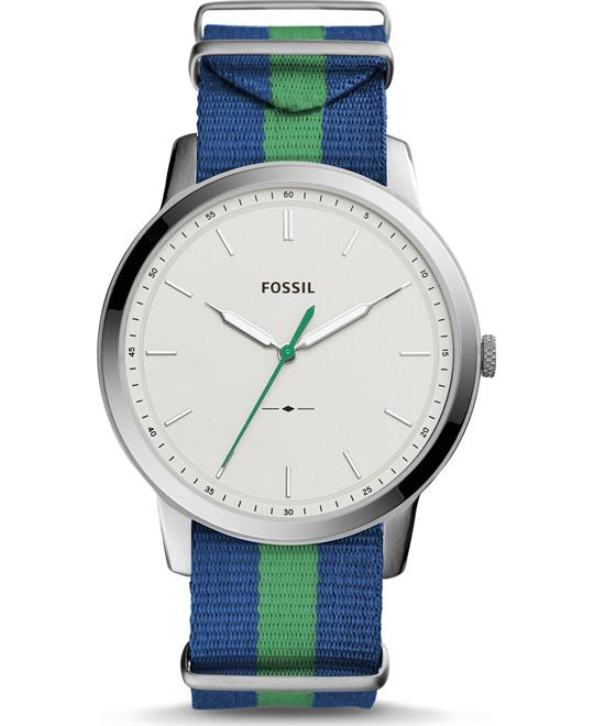 Fossil The Minimalist Polyester Watch 44mm