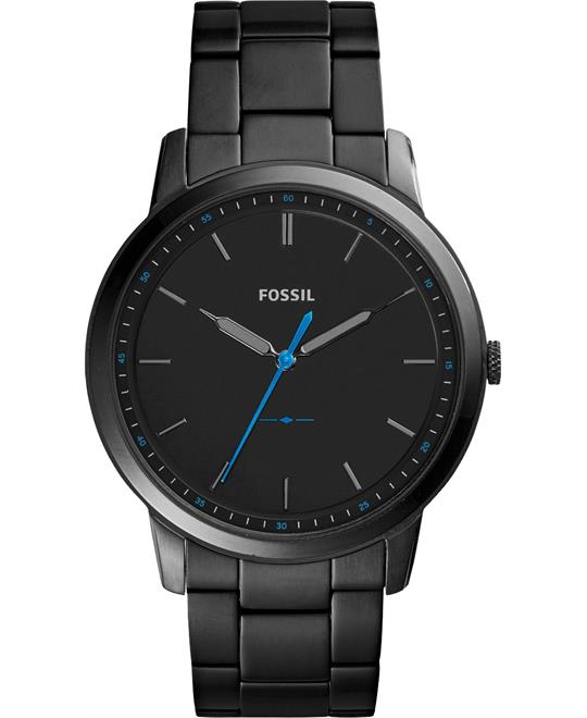 Fossil The Minimalist Slim Black Watch 44mm